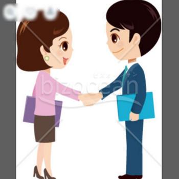 ビジネス~握手|テンプレートのダウンロードは【書式の王様】