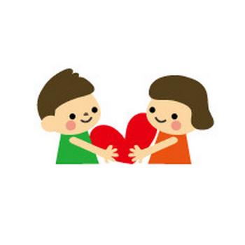 バレンタインのイラスト/無料イラスト