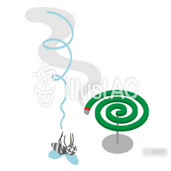 蚊取り線香2イラスト/無料イラストなら「イラストAC」