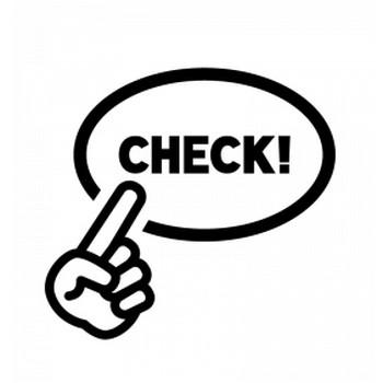 ワンポイントチェックのシルエット | 無料のAi・PNG白黒シルエットイラスト