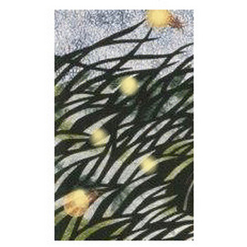 蛍(ホタル)の風景イラスト・カット:絵ごころ、詩こころ、あーそぼ。