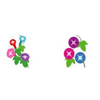 イラストポップ | 植物イラスト-夏の花素材が無料