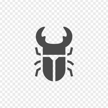 クワガタ虫のアイコン | アイコン素材ダウンロードサイト「icooon-mono」 | 商用利用可能なアイコン素材が無料(フリー)ダウンロードできるサイト