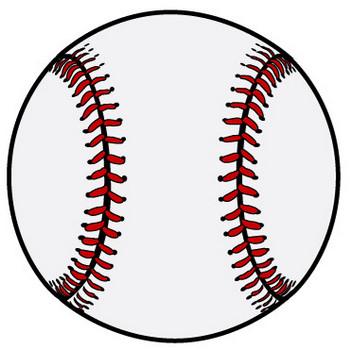 野球ボールの無料イラスト素材 iiイラストイメージ