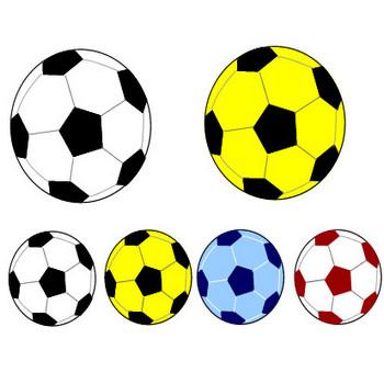 サッカーのイラスト素材