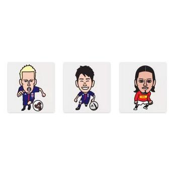 サッカー選手画像 ホームページ無料素材や似顔絵イラスト