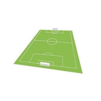 サッカーコートのイラスト - 無料イラストのIMT 商用OK、加工OK