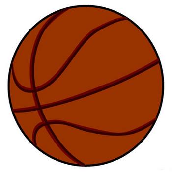 シンプルなバスケットボールの無料イラスト素材|iiイラストイメージ