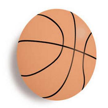 バスケットボールカット/無料イラスト素材0058