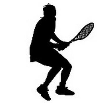 スポーツ−テニス【シルエット素材】 MMGクリエイティブネット