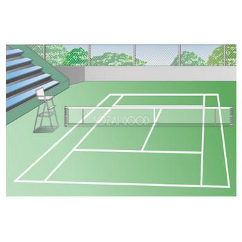 テニスフリー素材のイラスト画像集めてみた