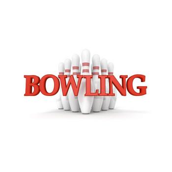 BOWLING|ボウリング - 3D文字|イラスト|フリー素材
