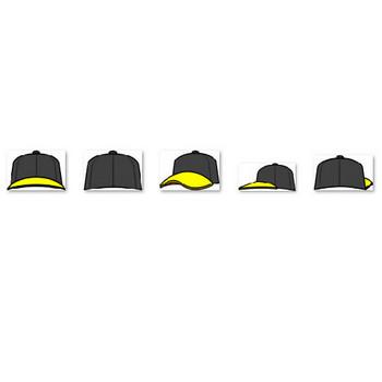 野球帽のイラスト(イラスト画像フリー素材)