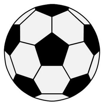 サッカーボールのイラスト|フリー素材 イラストカット.com