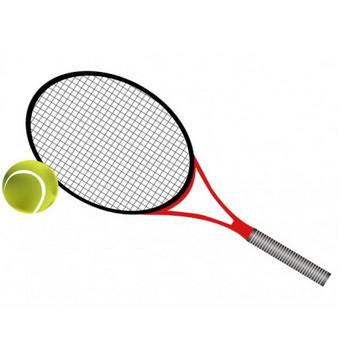 テニスラケットとボールのイラスト素材 | イラスト無料・かわいいテンプレート