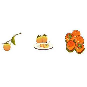 イラストポップ   季節のイラスト秋-10月の無料素材-食欲の秋、秋の味覚