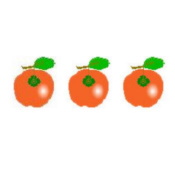果物イラスト素材 素材屋じゅんのフルーツイラストくだもの・フリー無料・果実画像絵・背景素材アイコン