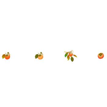 秋の味覚の無料イラスト