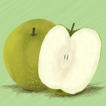 梨のイラスト - 手書きのかわいい果物無料素材 - チコデザ
