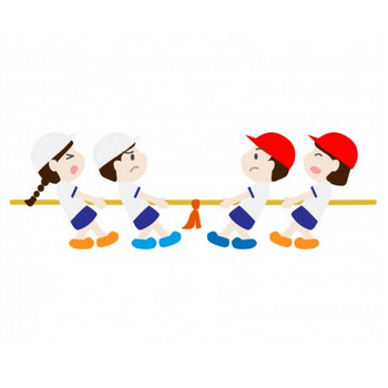 運動会・綱引きのイラスト素材 | イラスト無料・かわいいテンプレート