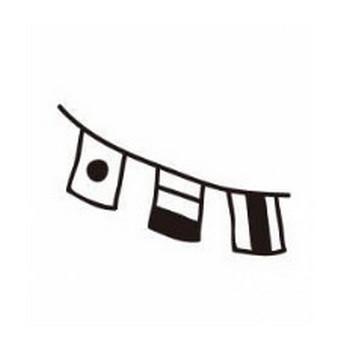 万国旗|シルエット イラストの無料ダウンロードサイト「シルエットAC」