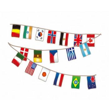 かわいい万国旗のイラスト - 無料イラストのIMT 商用OK、加工OK