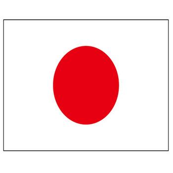 日本の国旗(日の丸)のフリー素材