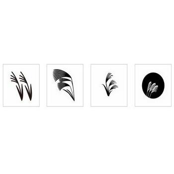 すすき|シルエット イラストの無料ダウンロードサイト「シルエットAC」