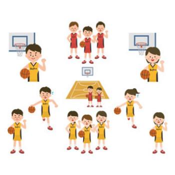 バスケットボール - GAHAG | 著作権フリー写真・イラスト素材集