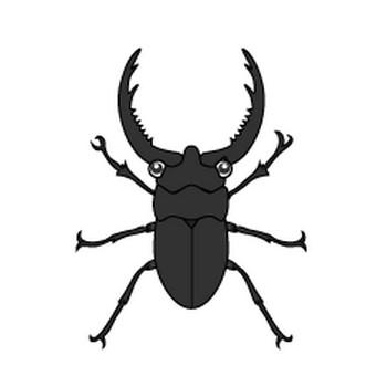 【まとめ】カブトムシのフリーイラスト素材集|イラストイメージ