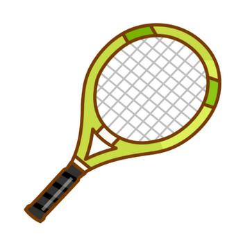 テニスラケットのイラスト02 | 無料のフリー素材 イラストエイト