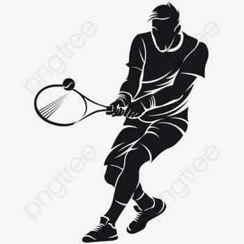 無料ダウンロードのためのテニス選手 テニスをする ラケット イラスト png画像