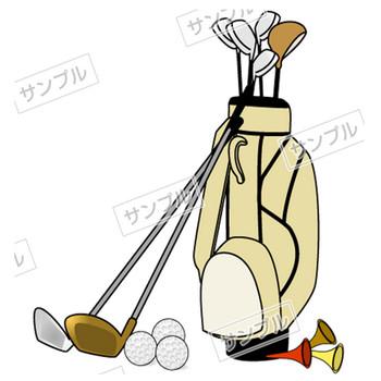 無料素材 ゴルフのイラスト素材 詳細|楽だねonline 素材ダウンロード