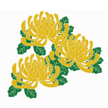 菊のイラスト1 | イラスト素材パラダイス 商用利用無料のイラスト素材