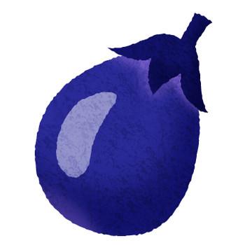 加茂茄子の無料イラスト | フリーイラスト素材集 ジャパクリップ