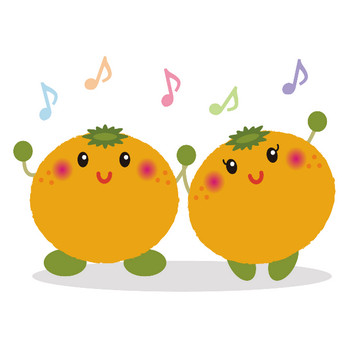【無料】みかん・オレンジのかわいいイラスト   かわいい無料イラスト・イラストの描き方