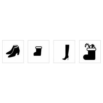 ブーツ|シルエット イラストの無料ダウンロードサイト「シルエットAC」