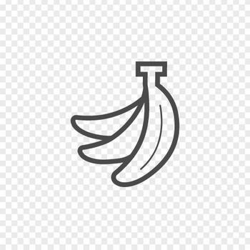バナナなの房のイラスト素材 | アイコン素材ダウンロードサイト「icooon-mono」 | 商用利用可能なアイコン素材が無料(フリー)ダウンロードできるサイト