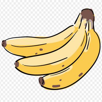 バナナのイラスト | おしゃれでかわいいフリーイラスト素材 イラストナビ