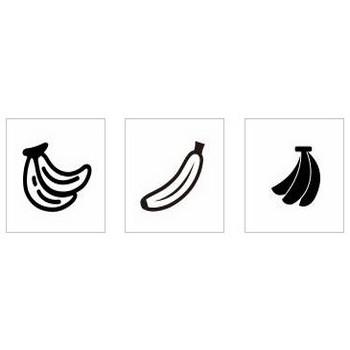 バナナ|シルエット イラストの無料ダウンロードサイト「シルエットAC」