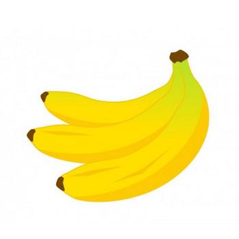 バナナのイラスト素材 | イラスト無料・かわいいテンプレート