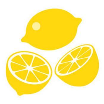 レモン - イラスト素材 | 商用利用可のベクターイラスト素材集「ピクト缶」