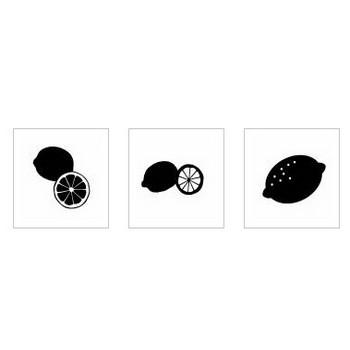 レモン|シルエット イラストの無料ダウンロードサイト「シルエットAC」