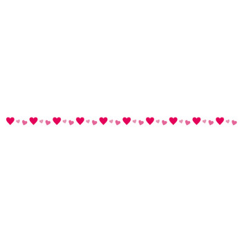 バレンタイン | 無料の線・ライン素材 飾り罫線イラスト.com