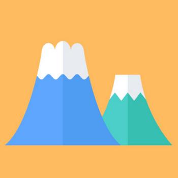 富士山のフリーイラスト – 街、建物系イラスト専門サイト「TOWN illust」