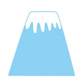 富士山 | フリーイラスト素材のぴくらいく|商用利用可能です
