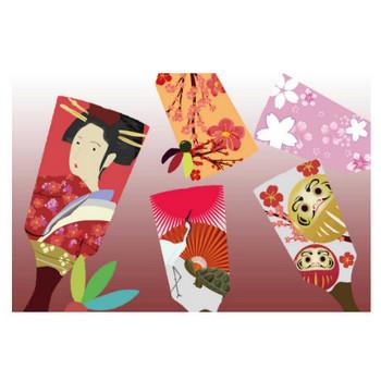 羽子板イラスト - お正月のおめでたい無料イメージ素材 - チコデザ