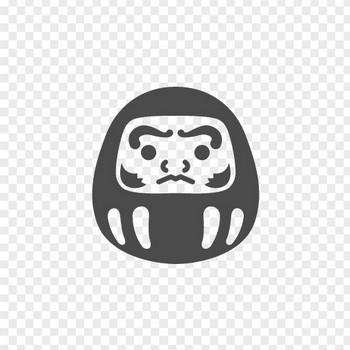 ダルマのアイコン | アイコン素材ダウンロードサイト「icooon-mono」 | 商用利用可能なアイコン素材が無料(フリー)ダウンロードできるサイト