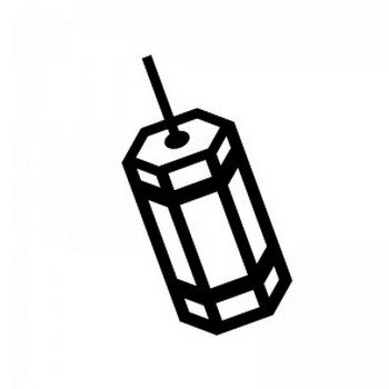 おみくじのシルエット | 無料のAi・PNG白黒シルエットイラスト