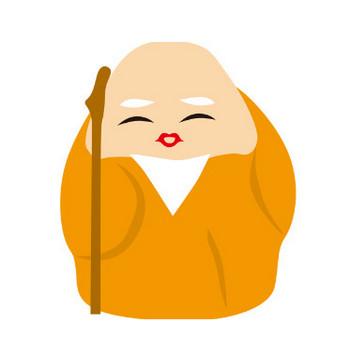 年賀状のイラスト・フリー素材 ダウンロード04【素材っち】